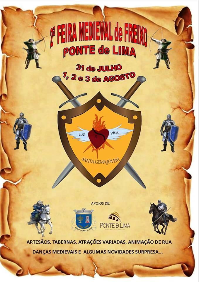 Feira Medieval de Freixo 2014